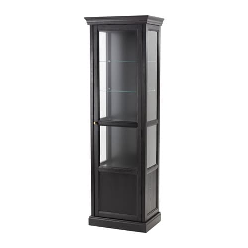 MALSJÖ Glass-door cabinet