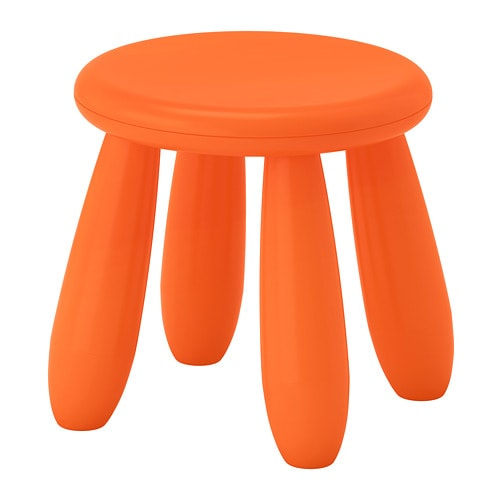 MAMMUT Children's stool IKEA Perfect for small children to sit at and play, draw, do crafts or set the table for a cosy picnic in the garden.