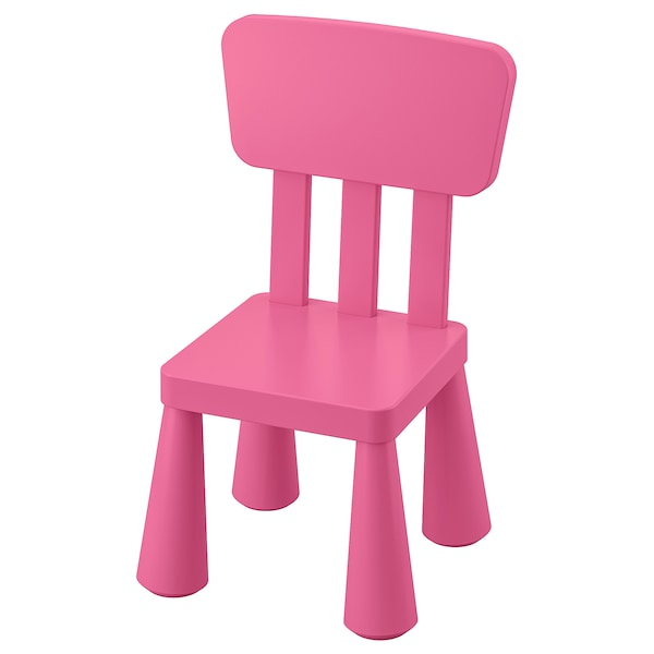 MAMMUT Children's chair, in/outdoor/pink
