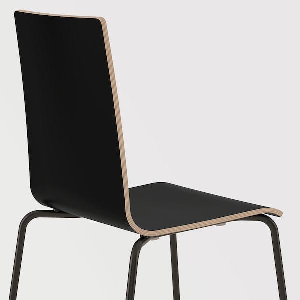 MARTIN chair black/black 100 kg 49 cm 52 cm 86 cm 38 cm 38 cm 45 cm