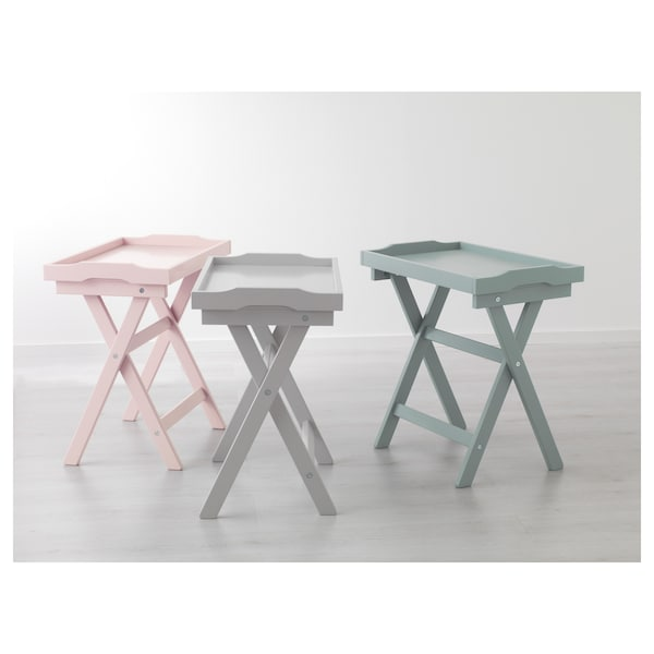 MARYD tray table green 58 cm 38 cm 58 cm