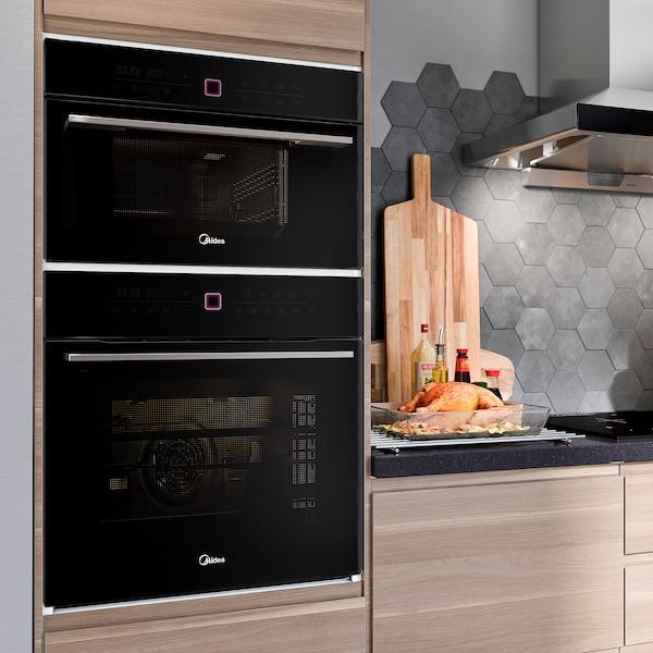 MATFANTAST TPN26MMY-SAL steam oven black 59.5 cm 42.0 cm 38.8 cm 20.00 kg
