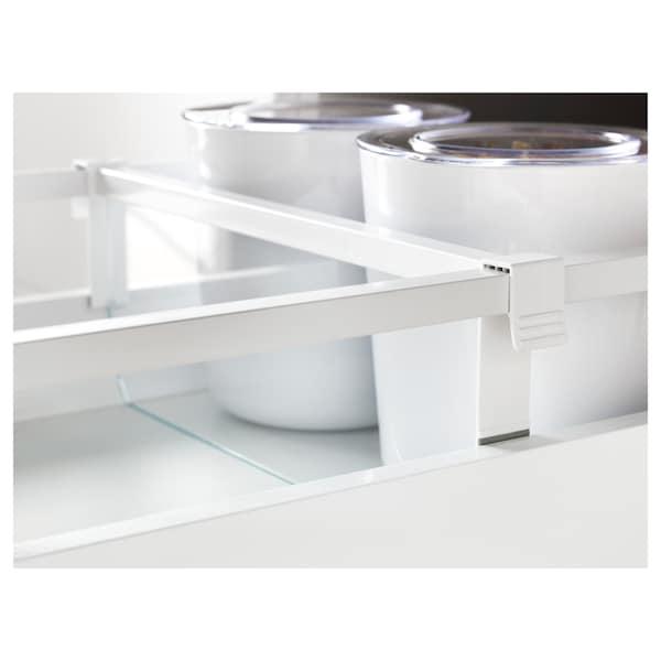 MAXIMERA divider for medium drawer white/transparent 35.6 cm 40.0 cm 12.3 cm 2.4 cm