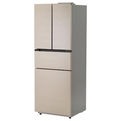 MEDELPUNKT BCD-276WTGM(YJ) Fridge/freezer with 4 doors, gold-colour/No Frost