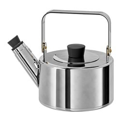 METALLISK kettle, stainless steel