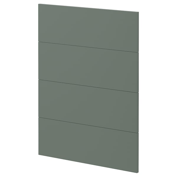 METOD 4 fronts for dishwasher Bodarp grey-green 60.0 cm 88.0 cm 80.0 cm 1.6 cm