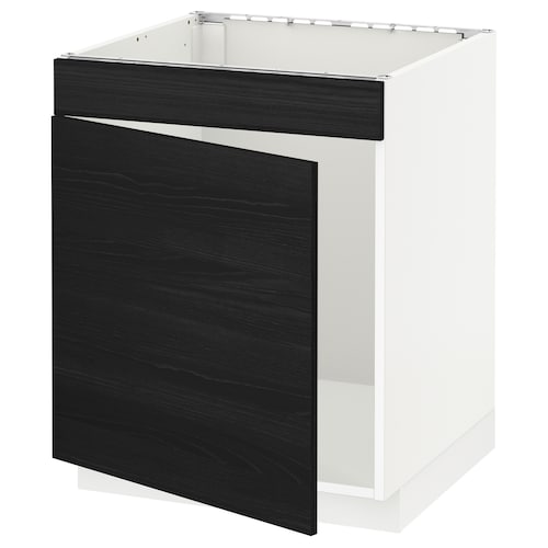 IKEA METOD Base cabinet f sink w door/front