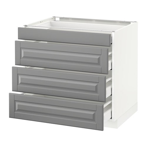 kitchen cabinet heights metod base cabinet with 4 drawers ma bodbyn grey 2540