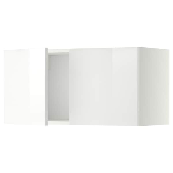 METOD wall cabinet with 2 doors white/Ringhult white 80.0 cm 37 cm 38.8 cm 40.0 cm