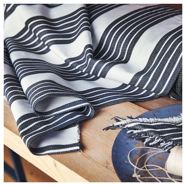 METTALISE fabric white/dark grey 260 g/m² 150 cm 1.50 m²