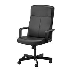 MILLBERGET swivel chair, Bomstad black