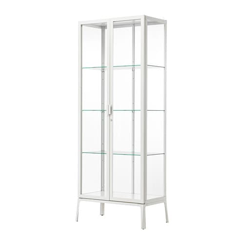 MILSBO Glass-door cabinet