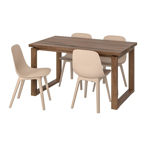 MÖRBYLÅNGA / ODGER Table and 4 chairs