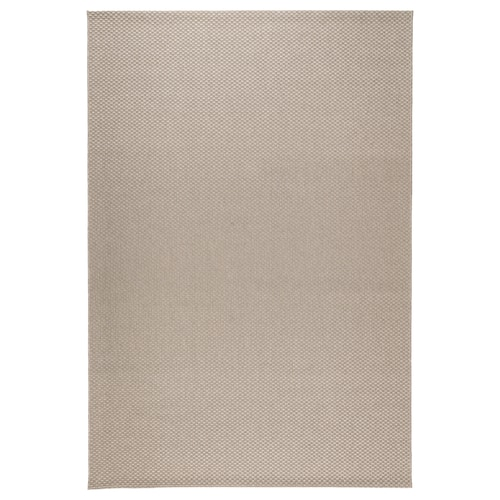 MORUM rug flatwoven, in/outdoor beige 230 cm 160 cm 5 mm 3.68 m² 1385 g/m²