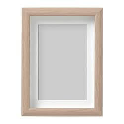 MOSSEBO frame, white stained oak effect