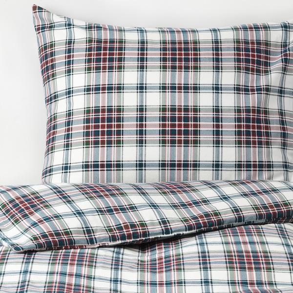 IKEA MOSSRUTA Quilt cover and pillowcase
