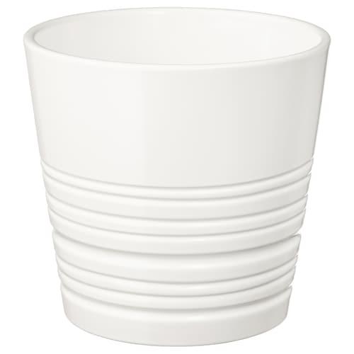 MUSKOT plant pot white 14 cm 15 cm 12 cm 14 cm