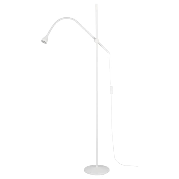 NÄVLINGE LED floor/read lamp, white