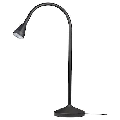 NÄVLINGE LED work lamp black 220 lm 66 cm 52 cm 12 cm 5 cm 2.0 m 2.6 W 25000 hr