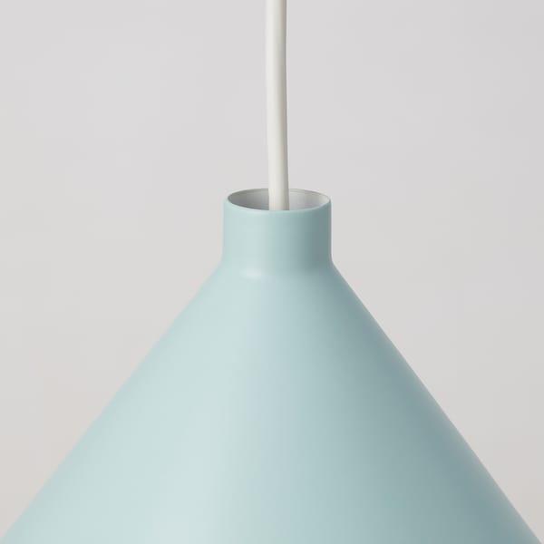 NÄVLINGE Pendant lamp, light blue, 33 cm