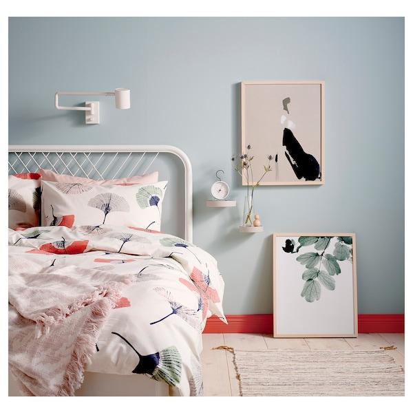 NESTTUN bed frame white/Luröy 207 cm 156 cm 95 cm 35 cm 95 cm 200 cm 150 cm