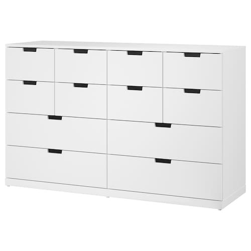 IKEA NORDLI Chest of 12 drawers