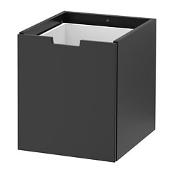NORDLI modular chest of drawers, anthracite