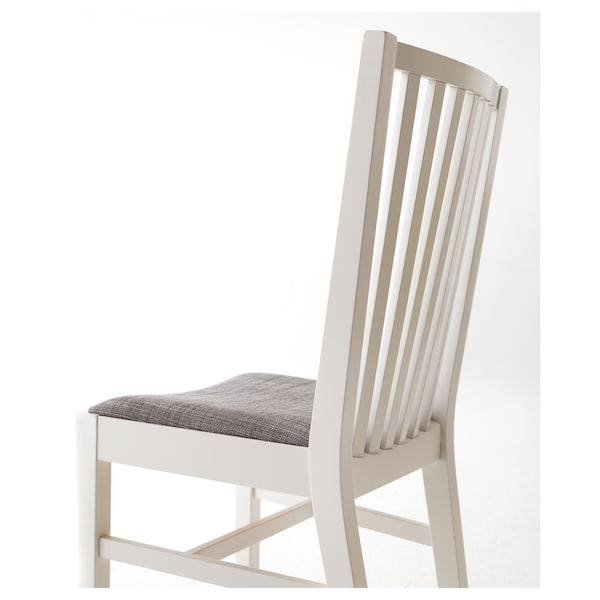 NORRNÄS Chair, white/Isunda grey