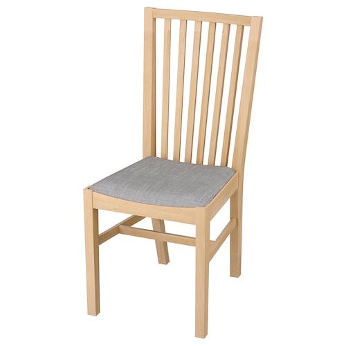 NORRNÄS chair birch/Isunda grey 110 kg 42 cm 53 cm 95 cm 42 cm 40 cm 46 cm
