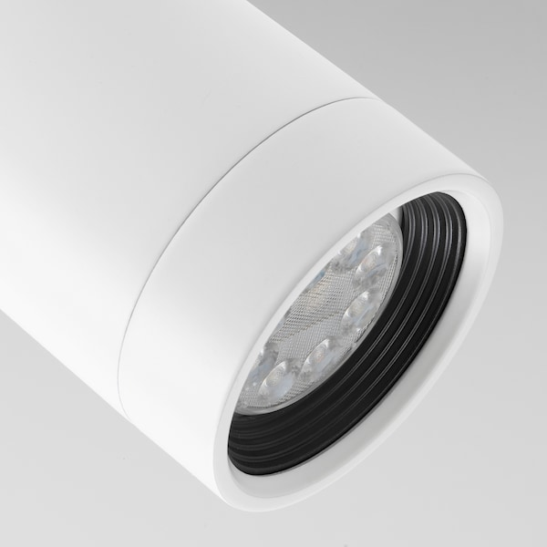 NYMÅNE ceiling spotlight with 1 spot white 8.5 W 13 cm 8 cm
