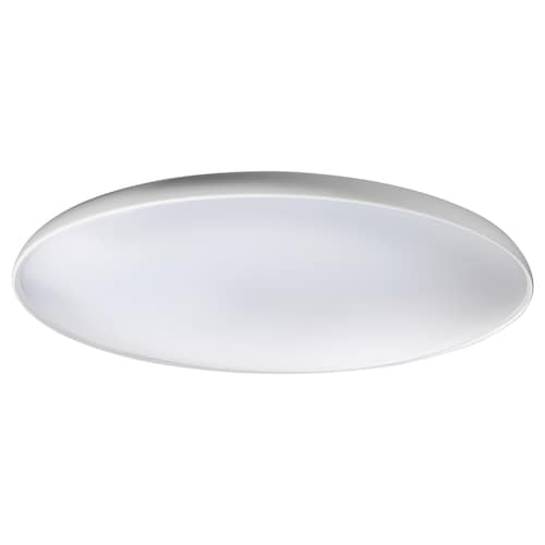 NYMÅNE LED ceiling lamp white 28 W 2700 K 1800 lm 8 cm 45 cm