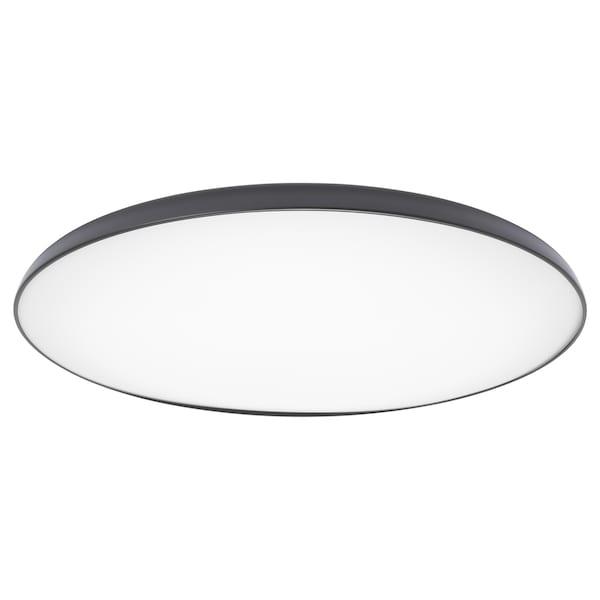 NYMÅNE LED ceiling lamp anthracite 28 W 8 cm 45 cm