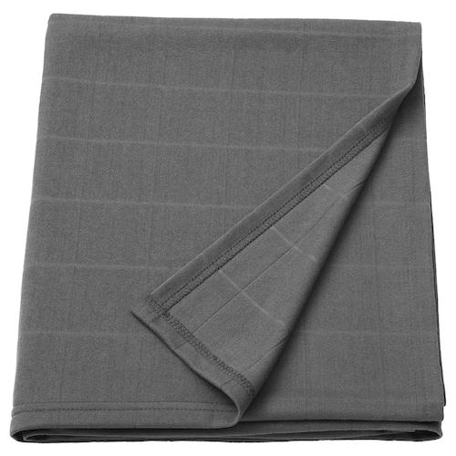 ODDHILD throw dark grey 170 cm 120 cm