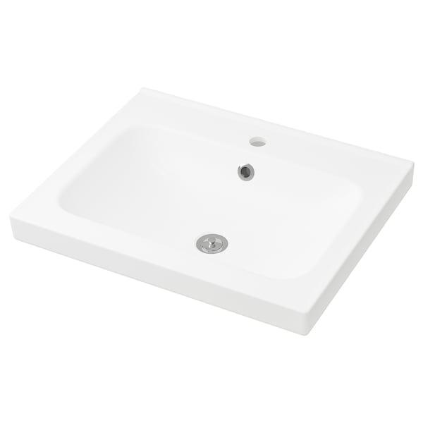 ODENSVIK single wash-basin 63 cm 60 cm 49 cm 6 cm