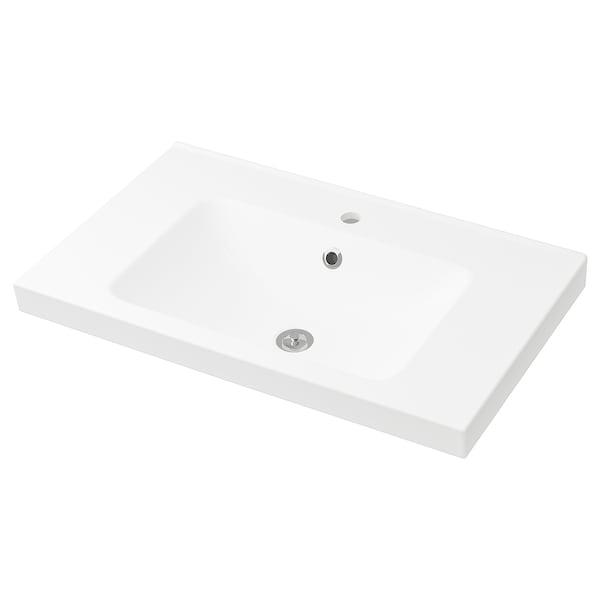 ODENSVIK single wash-basin 83 cm 80 cm 49 cm 6 cm