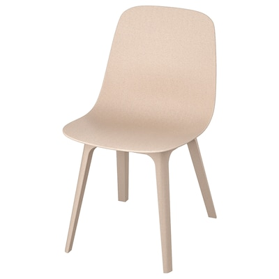 ODGER Chair, white/beige