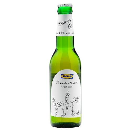 ÖL LJUS LAGER lager beer 4.7% 330 ml