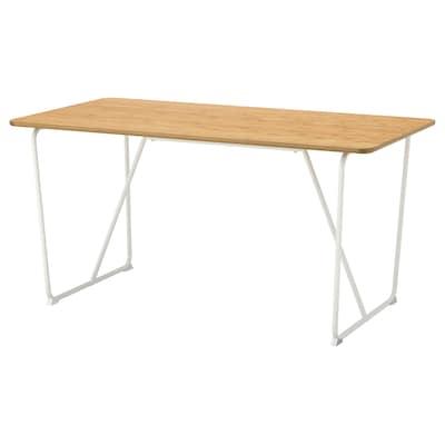 ÖVRARYD Table, bamboo/Backaryd white, 150x78 cm