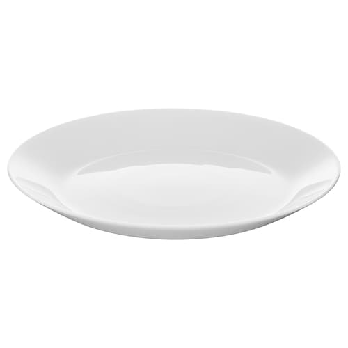OFTAST side plate white 19 cm