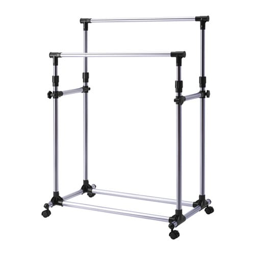 Oleby clothes rack ikea for Ikea coat rack stand