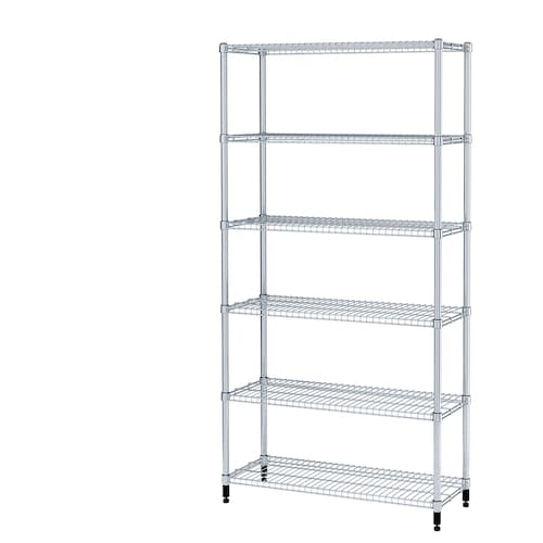 OMAR 1 shelf section 92 cm 36 cm 181 cm