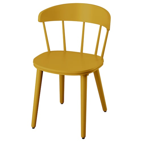 OMTÄNKSAM chair yellow 53 cm 50 cm 79 cm 45 cm 43 cm 47 cm