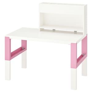 Colour: White/pink.