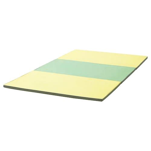 PASSBIT folding gym mat yellow/green/grey 225 cm 120 cm 3 cm