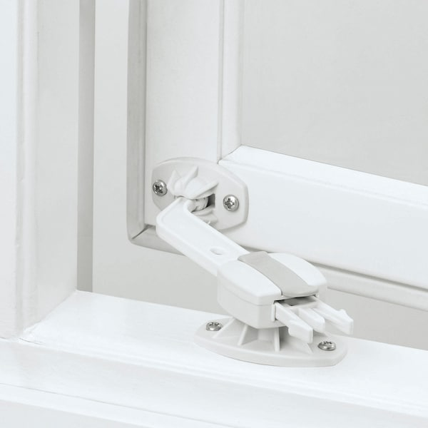 PATRULL window catch white 2 pack