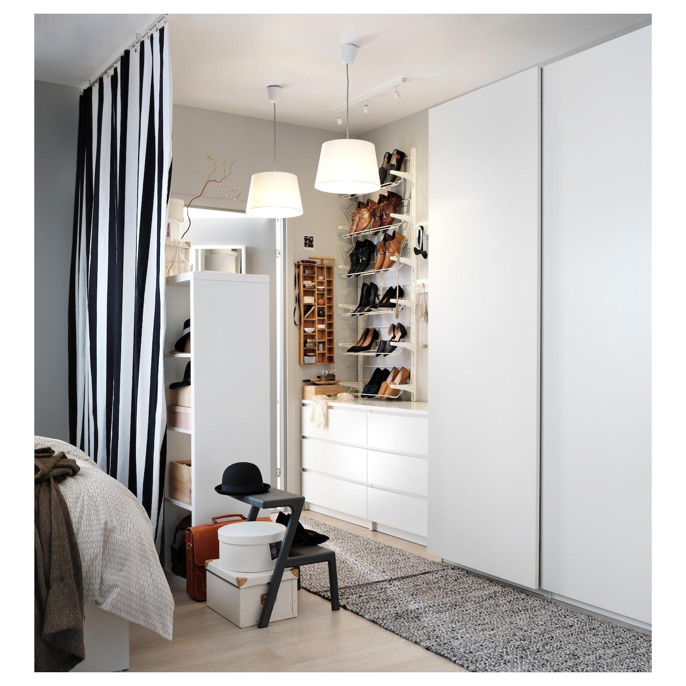 Pax Wardrobe White Hasvik White Ikea