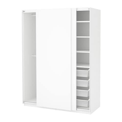 Pax Wardrobe 150x66x201 Cm Soft Closing Device Ikea