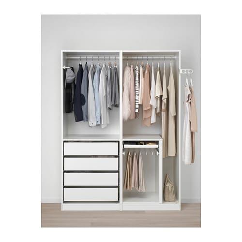 pax wardrobe 150x58x201 cm ikea. Black Bedroom Furniture Sets. Home Design Ideas