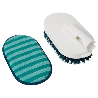 PEPPRIG Brush head with microfibre pad