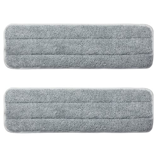 PEPPRIG microfibre pad for flat mop 37 cm 12 cm 2 pack